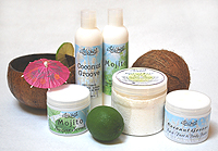 Coconut Lime Spa Collection
