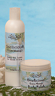 Onolicious lotion and sugar scrub